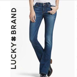 Lucky Brand Charlie Baby Boot Jeans, Size 28/6
